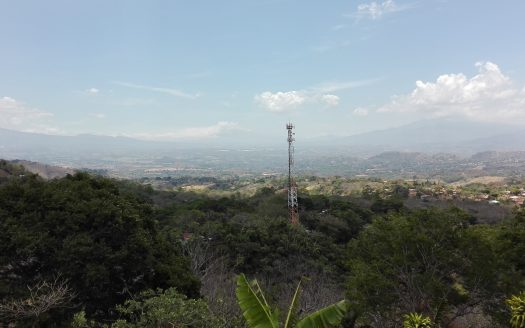 central valley view lot for sale Atenas Costa Rica
