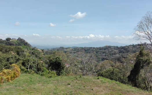 Costa Rica, very nice view lot for sale in Atenas