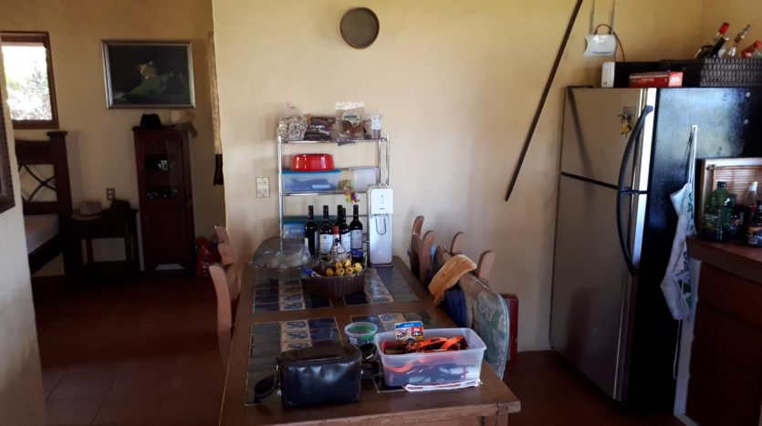 open living dining kitchen area in house for sale in atenas