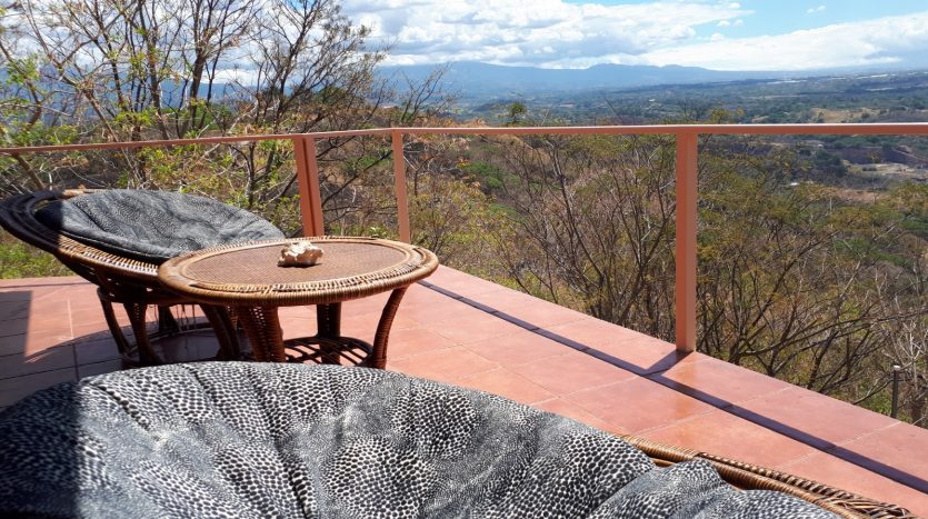 terrace with great views of central valley